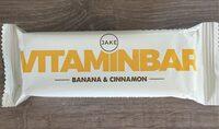 Vitaminbar banana & cinnamon - Produit - fr