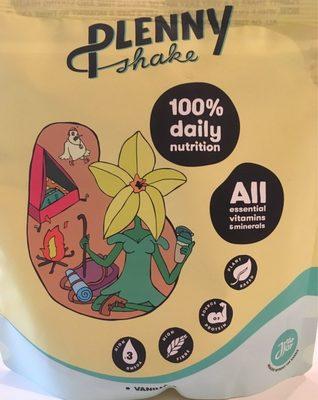 Plenny shake Vanilla - Product