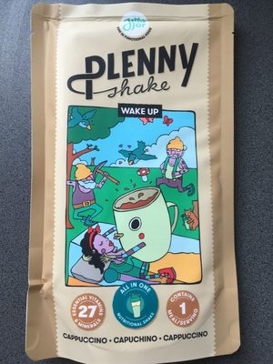 Plenny Shake Wake Up Cappuccino - Product