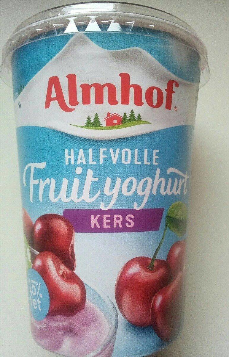 Halfvolle fruityoghurt kers - Product