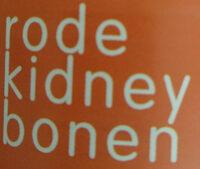 rode kidney bonen - Ingredients - nl