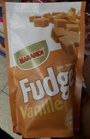 Fudge Vanille - Nutrition facts