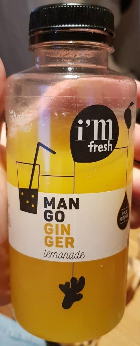 Mango Ginger Lemonade - Product - fr