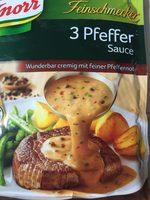 3-Pfeffer Sauce - Produit - fr