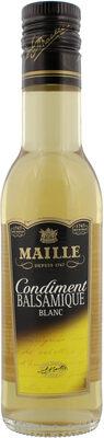 Maille Condiment Balsamique Blanc 25 cl - Product - fr