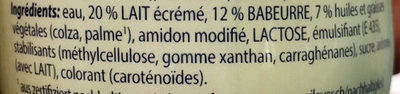 Cremefine, Zum Kochen 7% - Ingredients