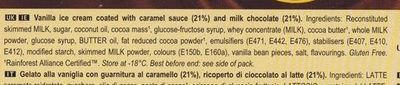 Magnum Double Caramel - Ingredients
