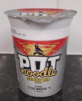 Pot Noodle Sticky Rib - Product - en