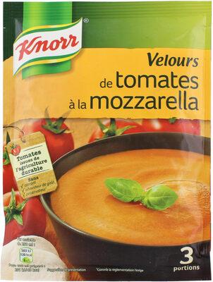 Knorr Soupe Déshydratée Velours de Tomates à la Mozzarella Sachet 3 Portions - Product - fr