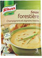 Knorr Soupe Forestière Champignons 85g 3 Portions - Product - fr