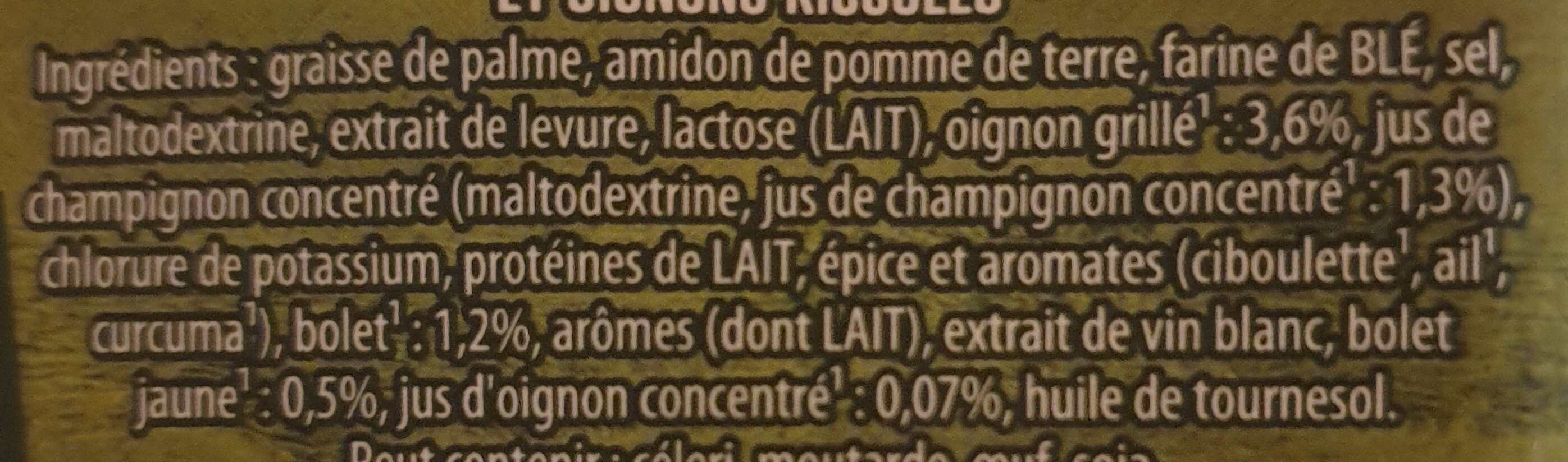 Knorr Soupe Forestière Champignons 85g 3 Portions - Ingrediënten - fr