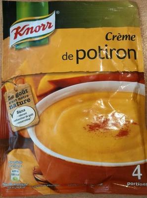 calorie Crème de potiron