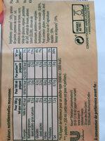 Knorr Soupe Crème de Potiron 100g 3 Portions - Informations nutritionnelles - fr