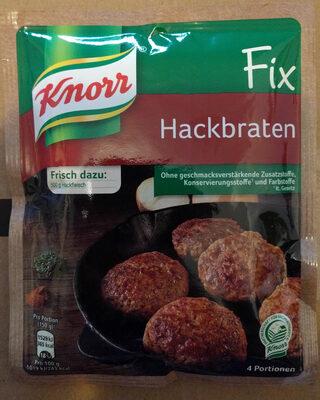 Knorr Fix, Hackbraten - Produit - fr