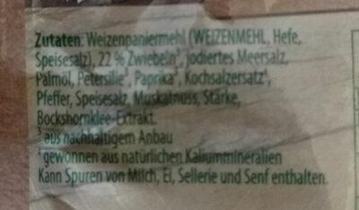 Knorr Fix, Hackbraten - Ingrédients