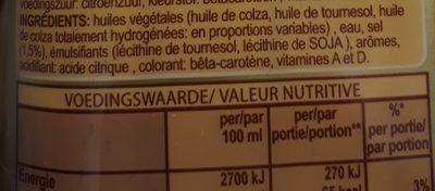 Solo liquide - Ingrediënten