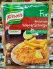 Fix wiener schnitzel (viennese cutlet) - Produkt