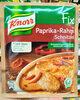 Fix für Paprika-Rahmschnitzel - Product