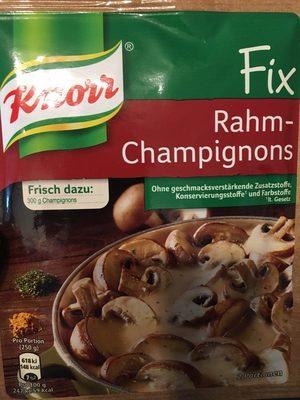 Rahm-Champignons - Produit
