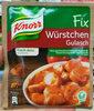 Würstchen Gulasch - Product
