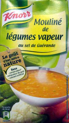 Mouliné de légumes vapeur au sel de Guérande Knorr - Produit - fr