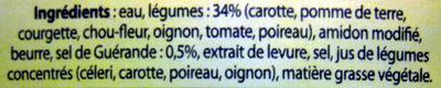 Mouliné de légumes vapeur au sel de Guérande Knorr - Ingrédients - fr
