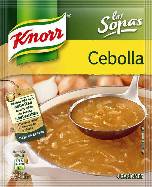 Sopa de cebolla - Product - es