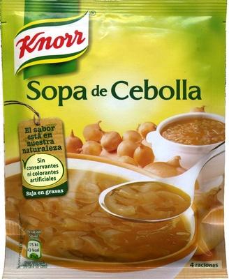 Sopa de cebolla deshidratada - Produit