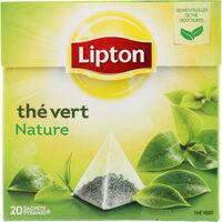 Lipton Thé Vert Nature 20 Sachets - Prodotto - fr