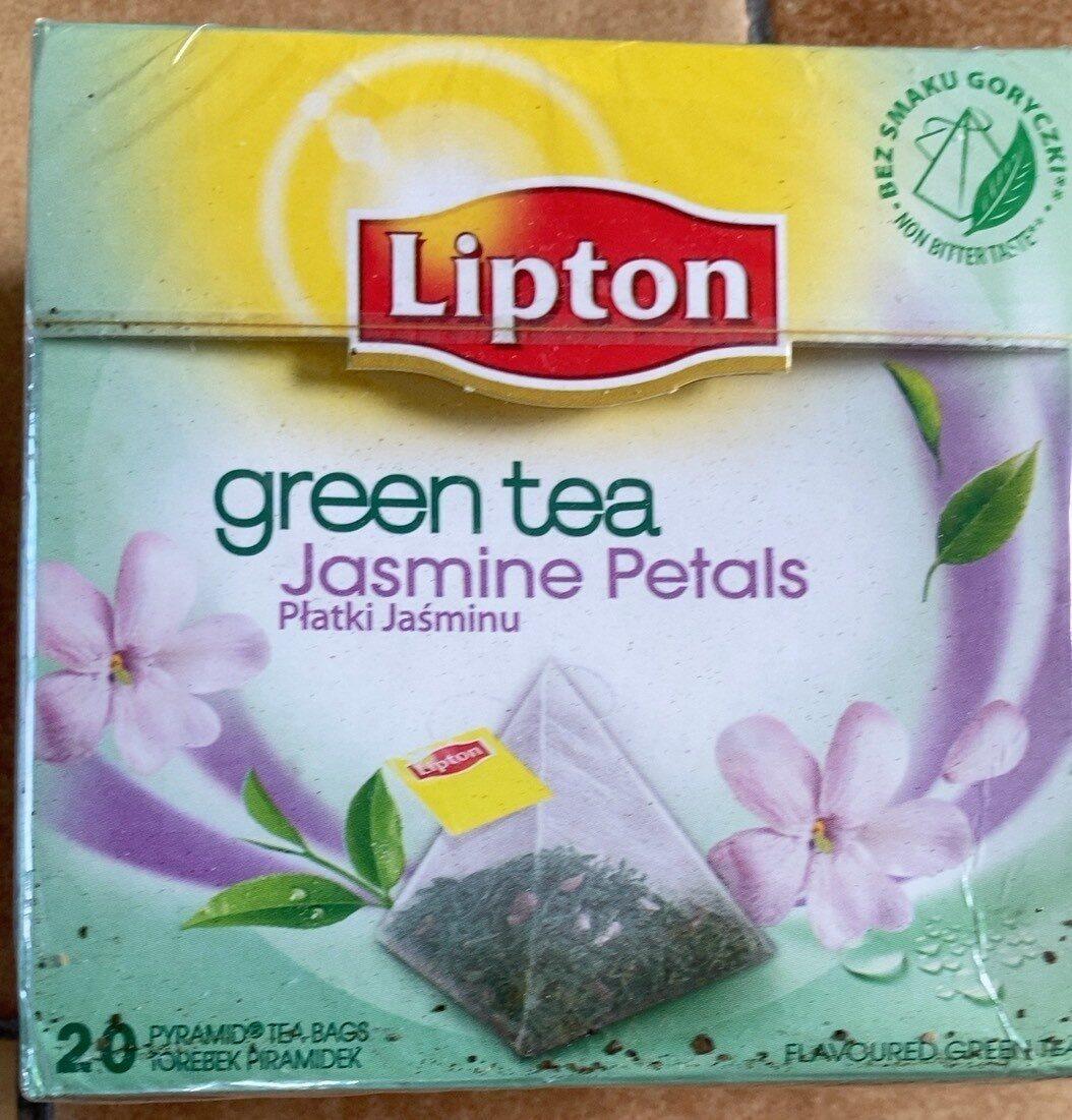 Lipton Herbata Green tea Jasmine  Petals Piramidka - Produit - hu