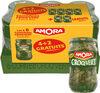 Amora Cornichons Croq'Vert Extra-Fins 380g lot 4+2 gratuits - Produit