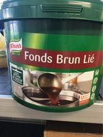 Fonds brun lié - Produit