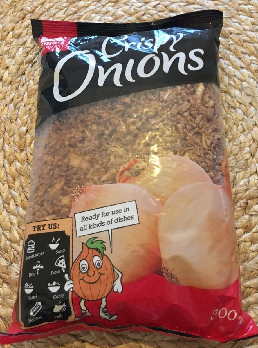 Crispy onions - Produit - fr