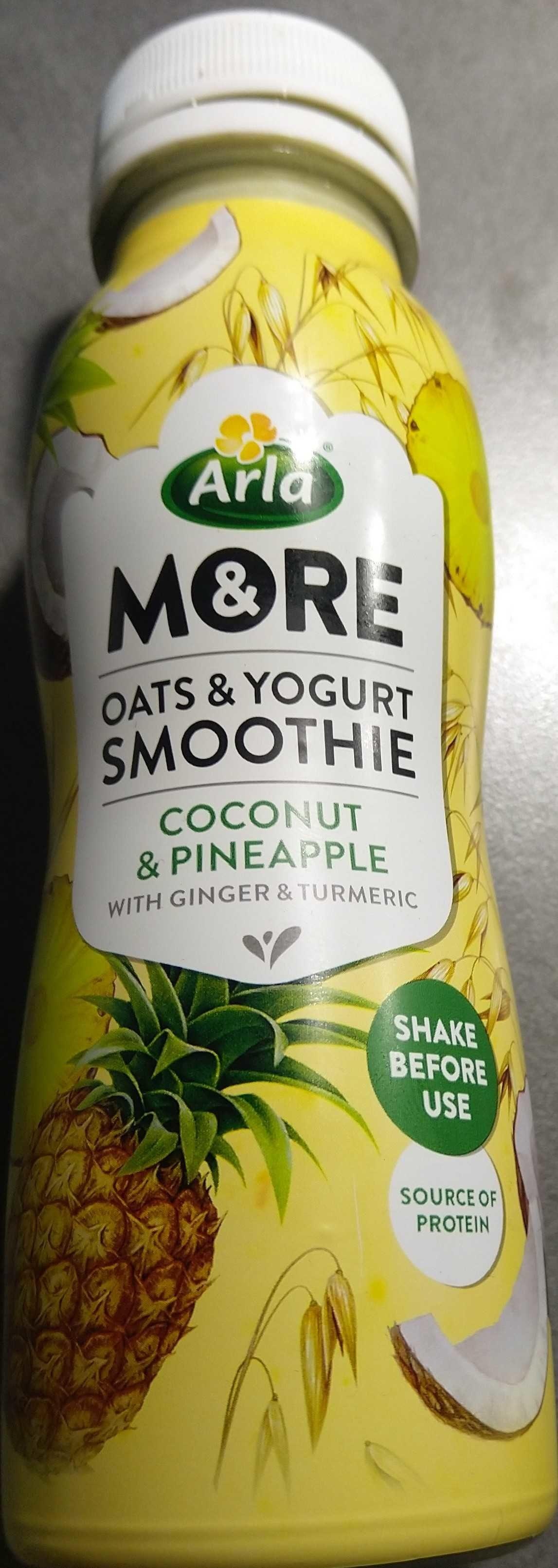 More - Oats & Yogurt Smoothie, Coconut & Pineapple - Product - en