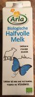 Lait demi écrémé biologique - Product - nl