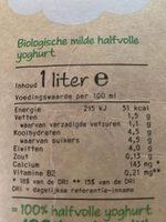 Yoghurt mager - Ingrediënten - nl