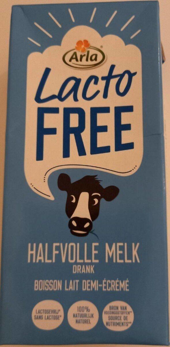 Boisson lait demi-écrémé sans lactose, uht - Product - nl