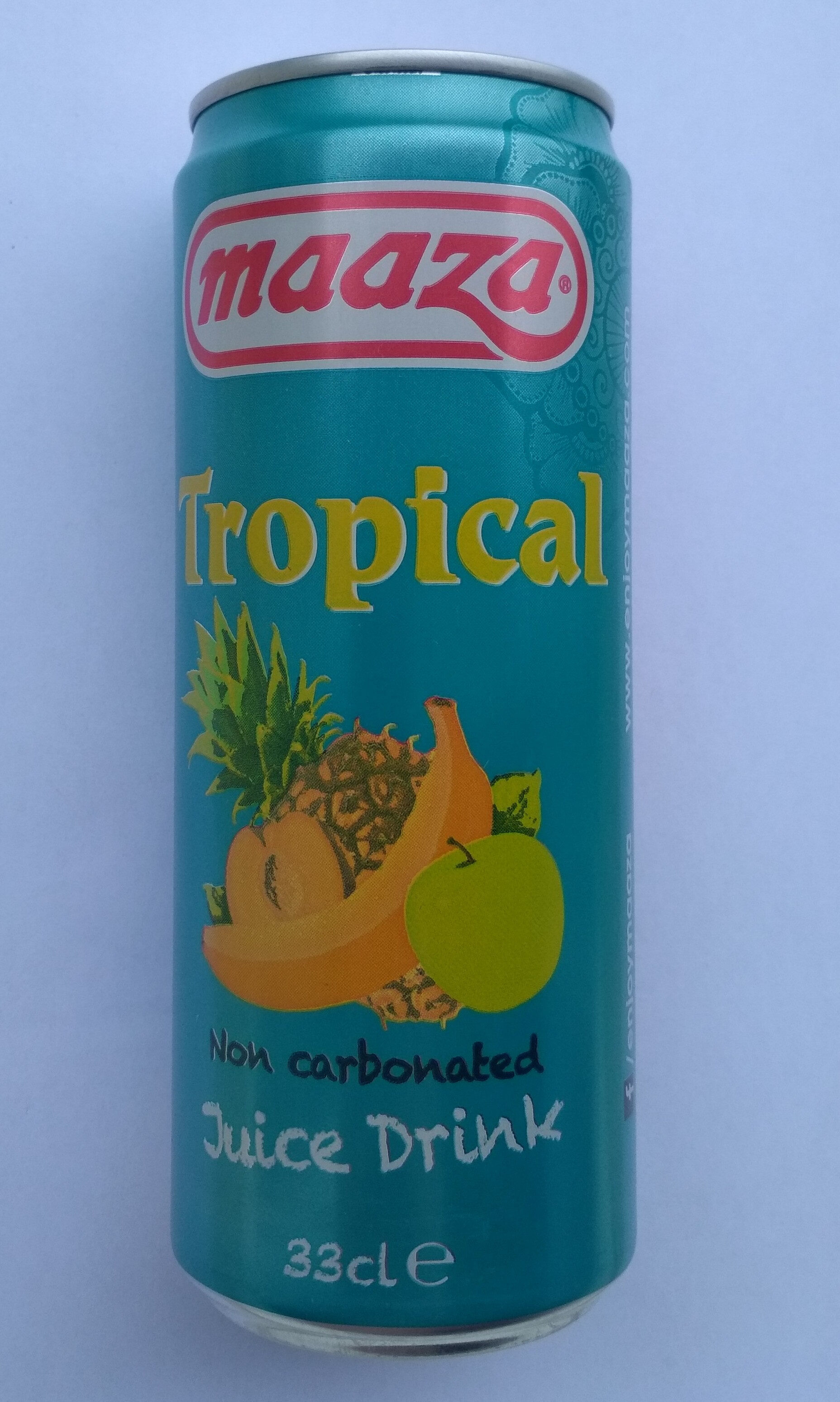 Maaza tropical non carbonated juive drink - Produit - fr