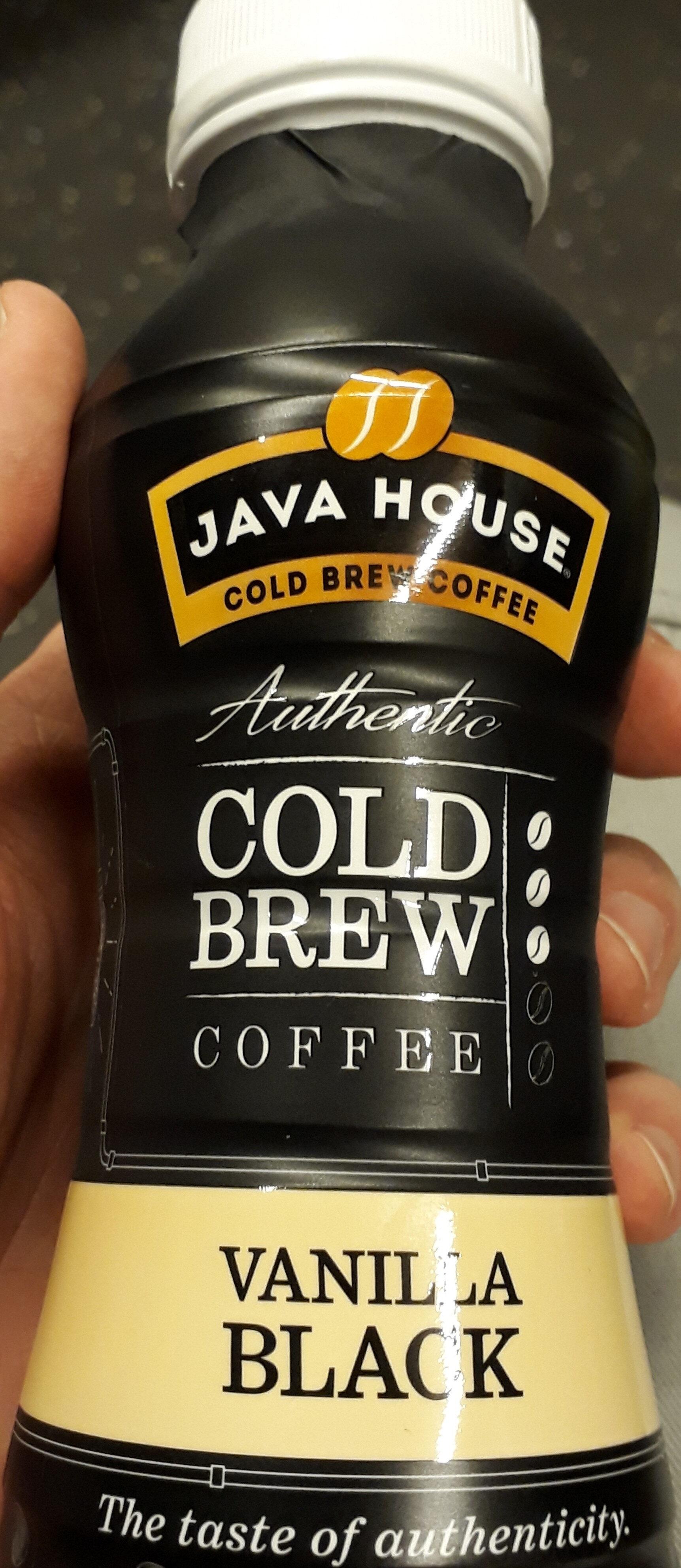 Cold brew coffee vanilla black - Produit