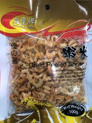 Crevettes séchées - Produit - fr