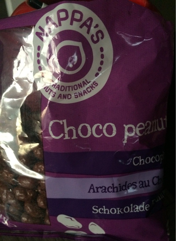 Choco peanuts - Produit