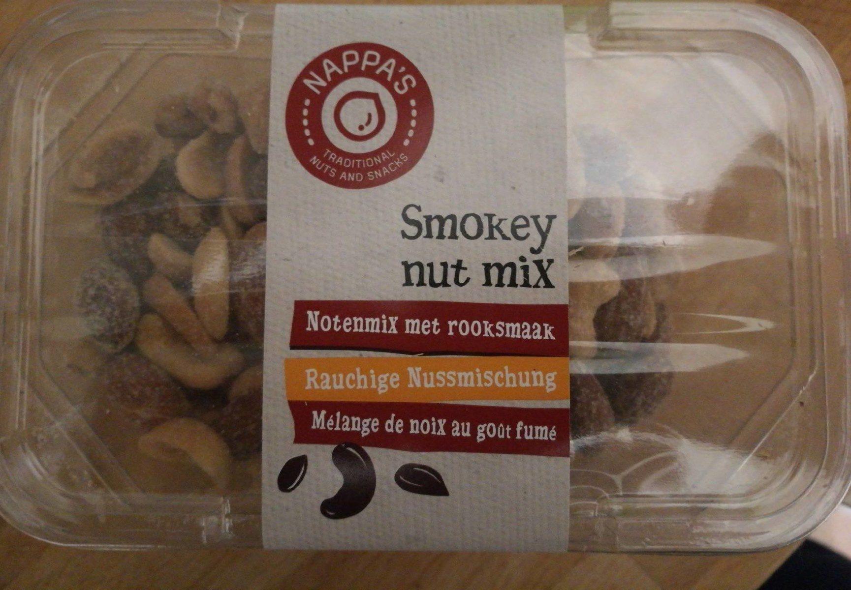 Melange de noix au gout fumé - Produit