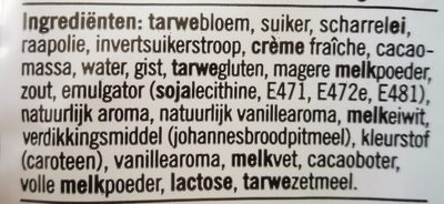 Melkbroodjes - Ingredients