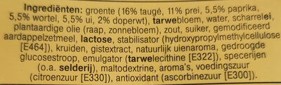 Groente Loempia - Ingrediënten - nl