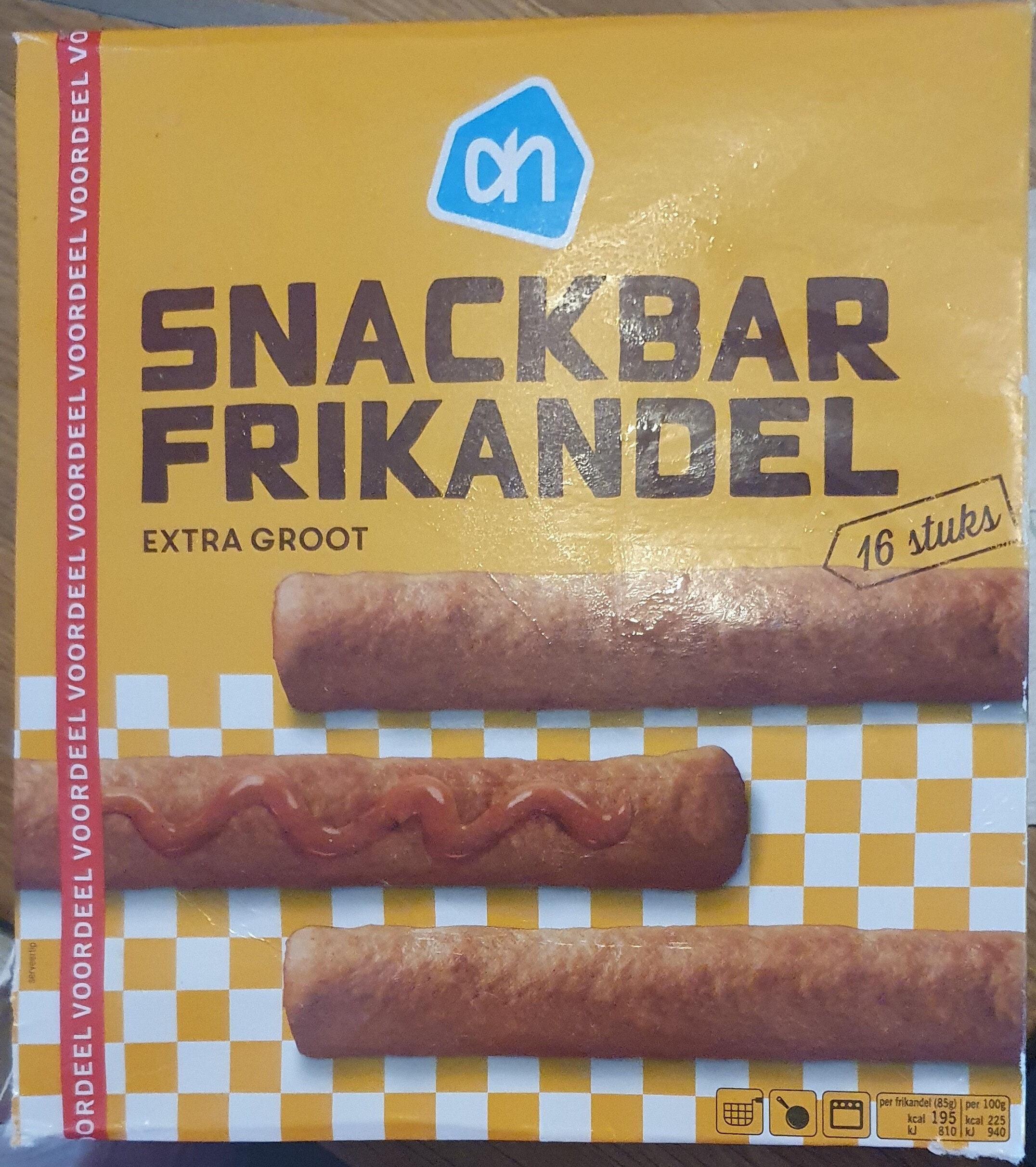 Snackbar Frikandel, extra groot - Produit - nl