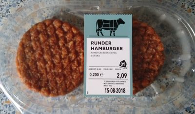 Runderhamburger - Product - nl