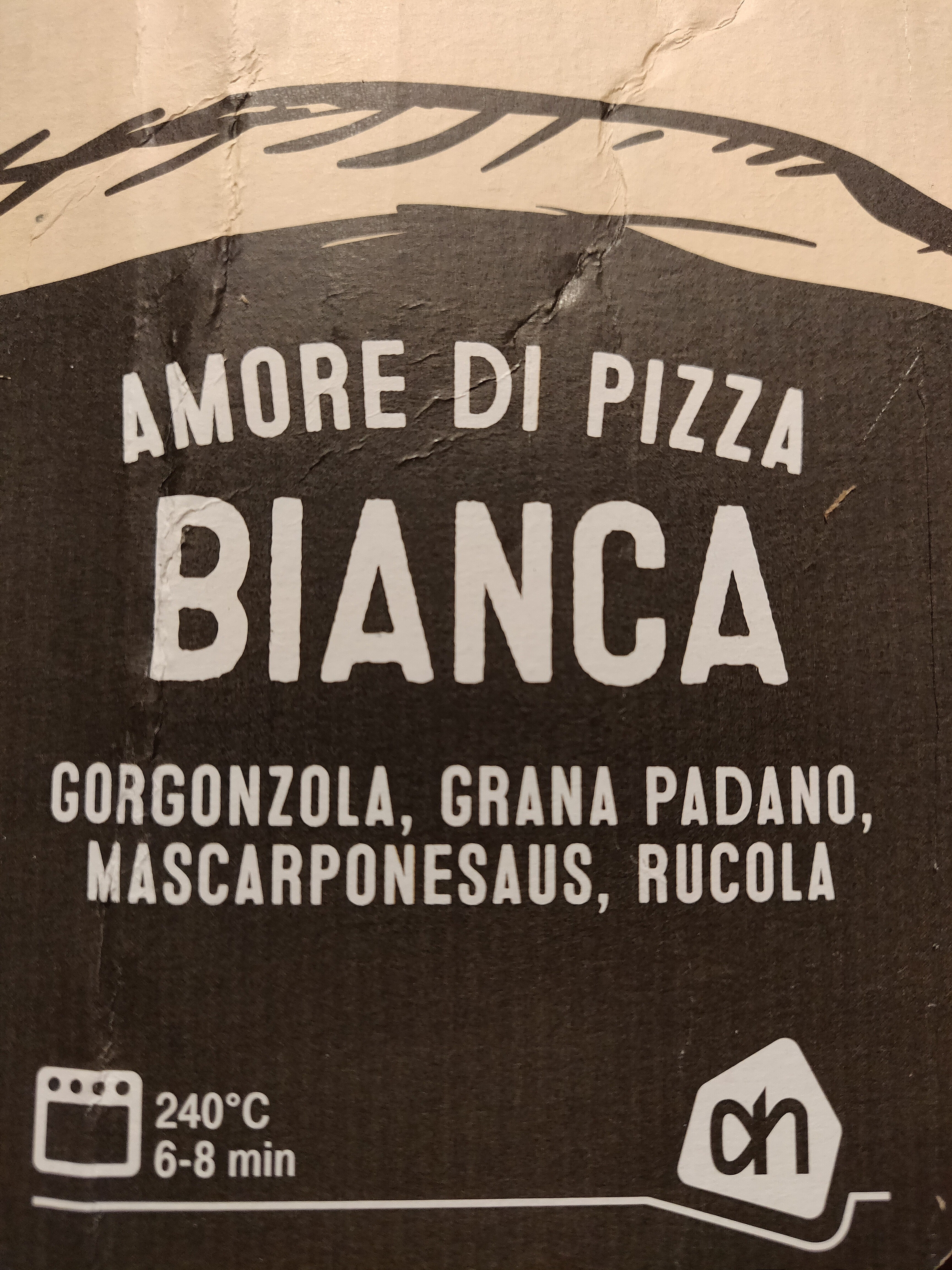 Pizza Bianca - Product