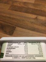Zuivelspread Light met Bieslook - Nutrition facts - nl