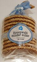 Stroop Wafels, Minder Suiker - Product - nl