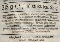 Stroop Wafels, Minder Suiker - Ingrediënten - nl